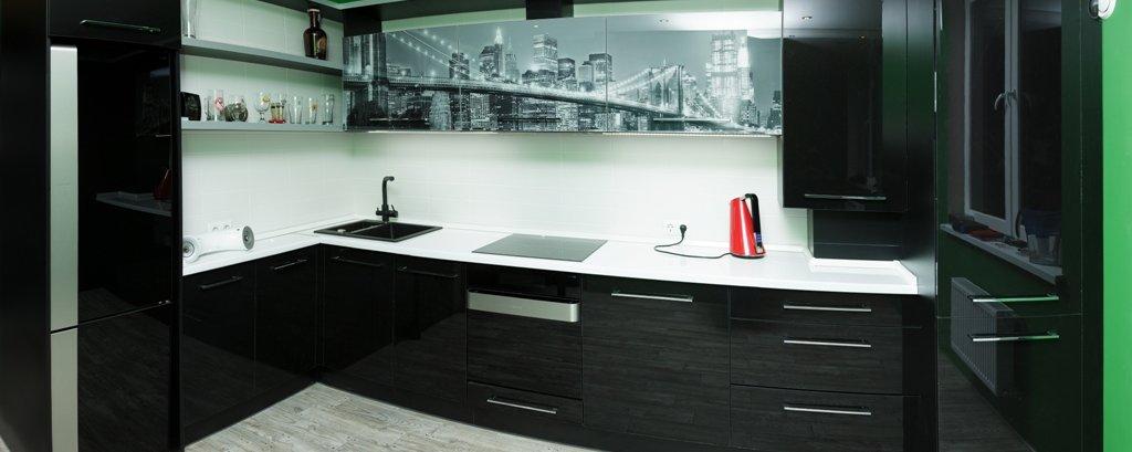 Современная угловая кухня от Валетта-мебель