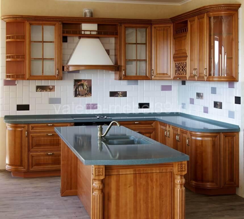 кухня из натурального дерева от Валетта-мебель