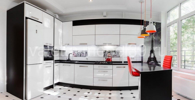 Белые угловые кухни в современном стиле
