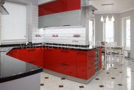 кухня с акриловыми фасадами от Валетта мебель