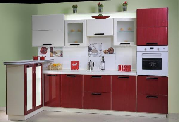 Цвет кухни: сочетание цветов