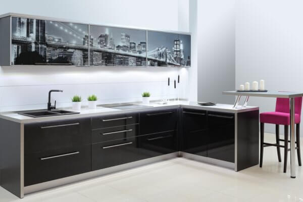 Кухня модерн Нью-Йорк