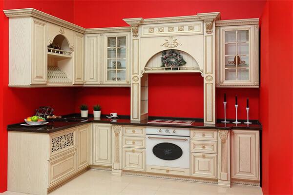 Эту кухню можно посмотреть в нашем салоне ТЦ «Балтламинат»на Советском проспекте, 125, 2-й этаж